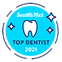 Dr Doppel chosen as top dentist in 2021 by Seattle Met