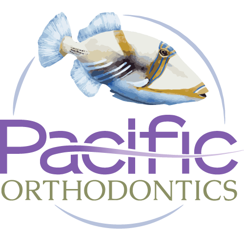 Pacific Orthodontics Trigger Fish Logo